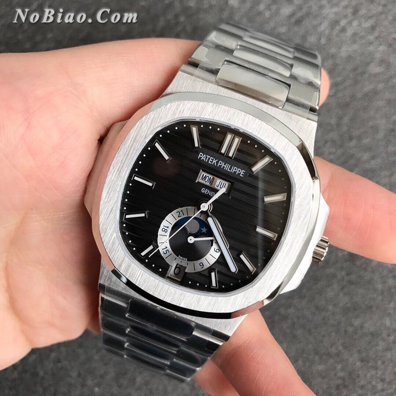 V9厂百达翡丽鹦鹉螺系列5726/1A-001年历款高仿手表