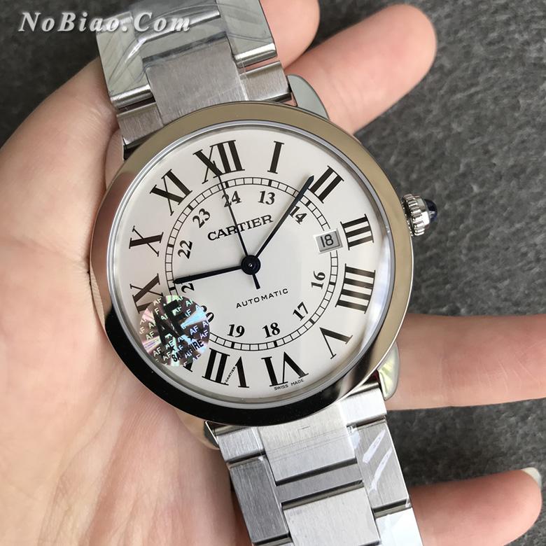 AF厂卡地亚伦敦RONDE SOLO超薄款W6701011复刻手表
