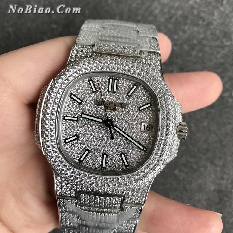 R8厂百达翡丽鹦鹉螺满天星V3升级版复刻手表