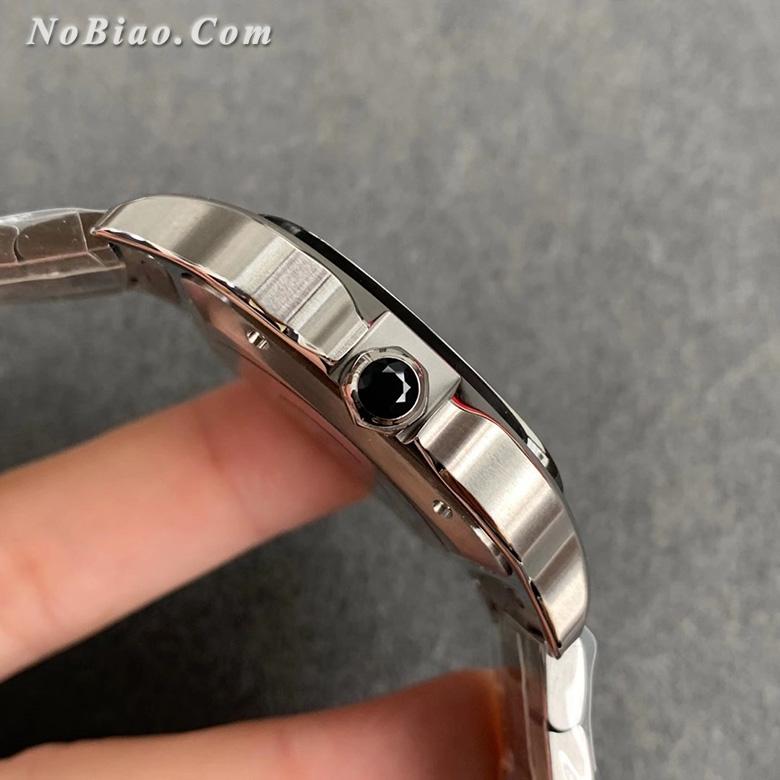GF厂卡地亚山度士系列灰面钢带款高仿手表