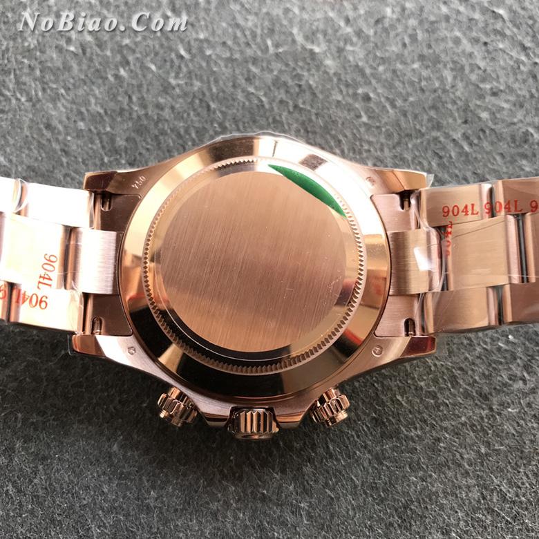 N厂劳力士迪通拿系列玫金m116505-0013一比一高仿手表