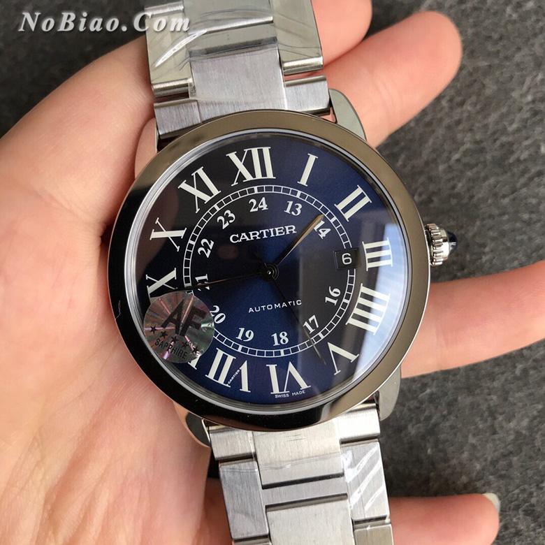AF厂卡地亚伦敦RONDE SOLO超薄WSRN0023复刻手表