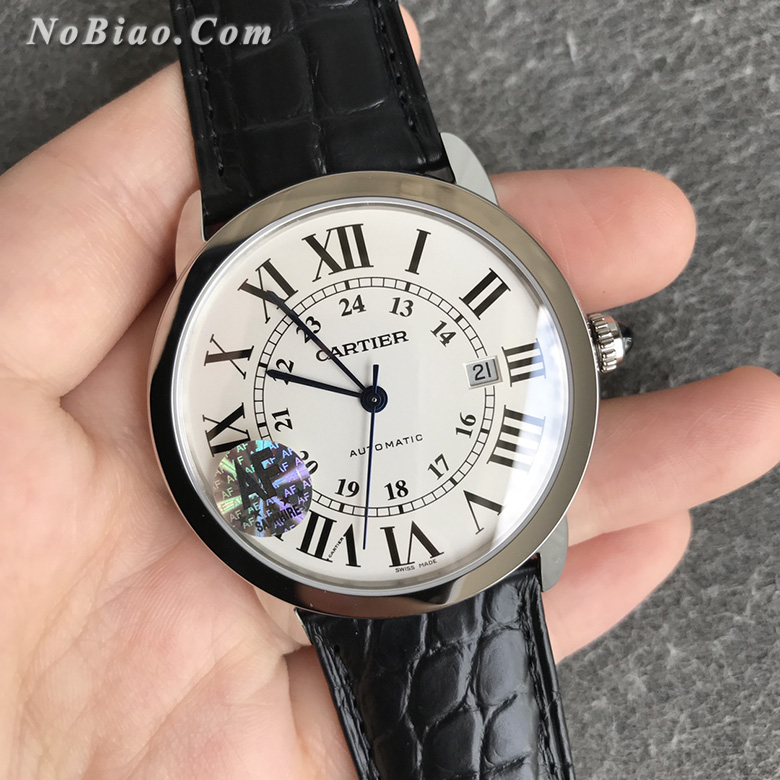 AF厂卡地亚伦敦RONDE SOLO超薄W6701010复刻手表