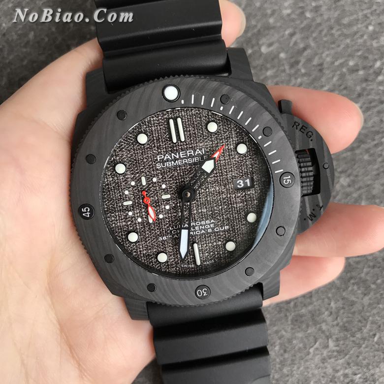VS厂沛纳海潜行系列PAM1039碳纤维壳复刻手表