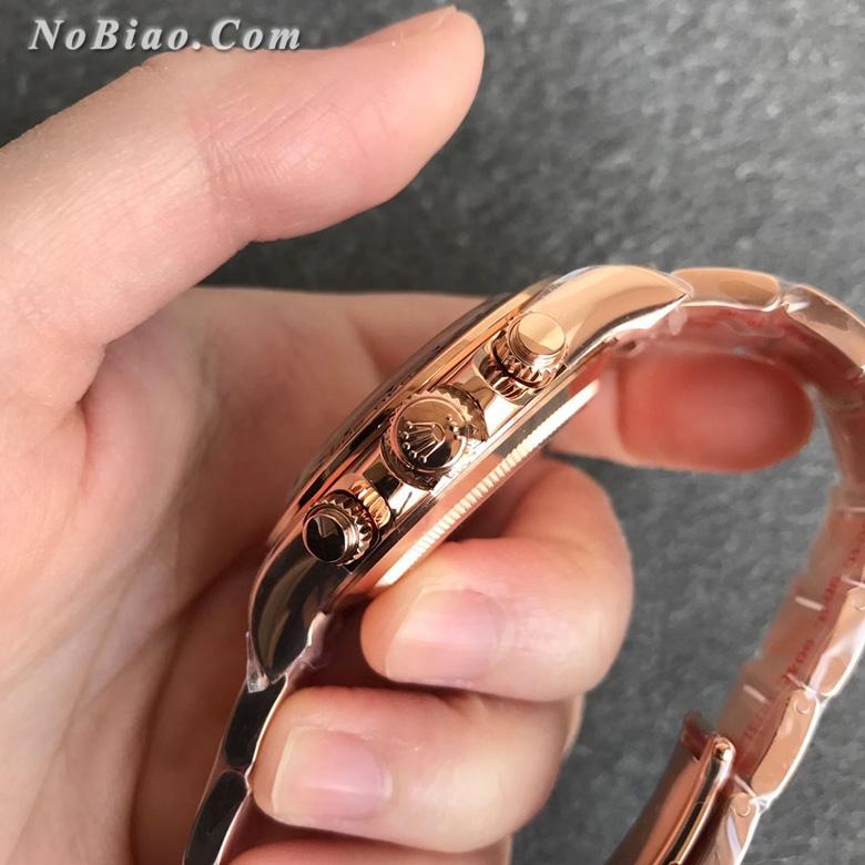 N厂劳力士Rolex玫金迪通拿m116505-0011复刻手表