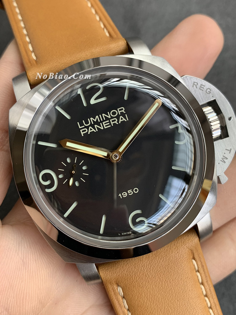 XF厂沛纳海PAM127复刻手表 大尺寸沛王 豁口避震