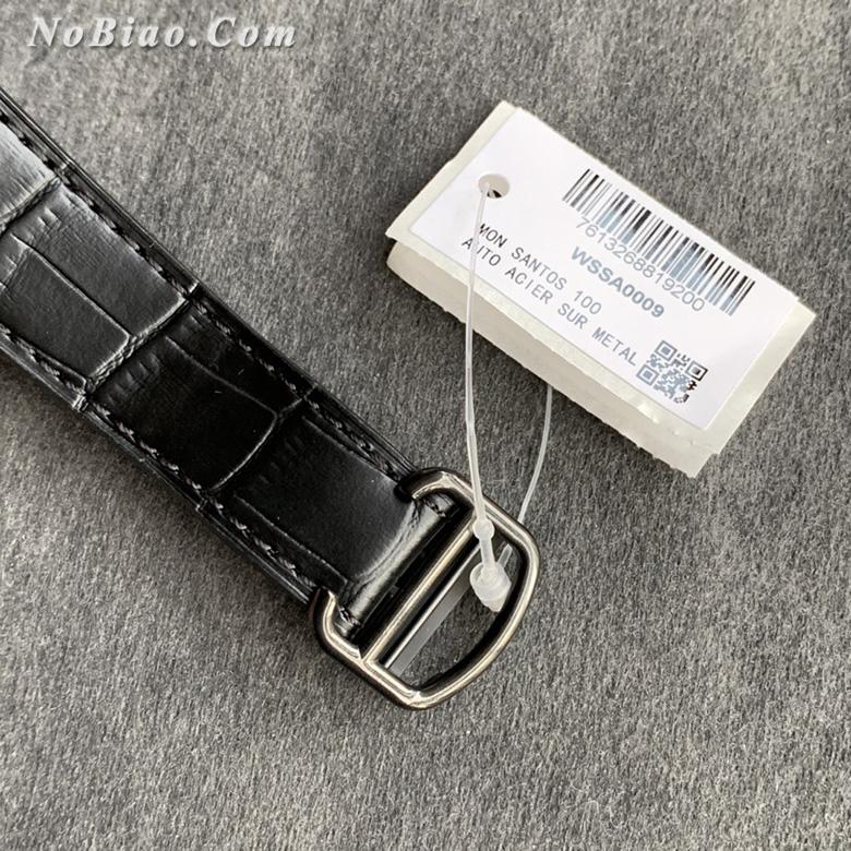V6厂卡地亚山度士WSSA0039黑武士一比一复刻手表