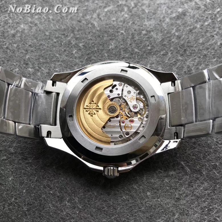 3K厂百达翡丽AQUANAUT 5167手雷黑面钢带款复刻手表