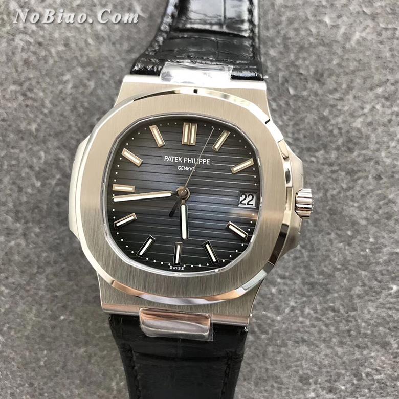 PPF厂百达翡丽鹦鹉螺5711皮带款高仿手表