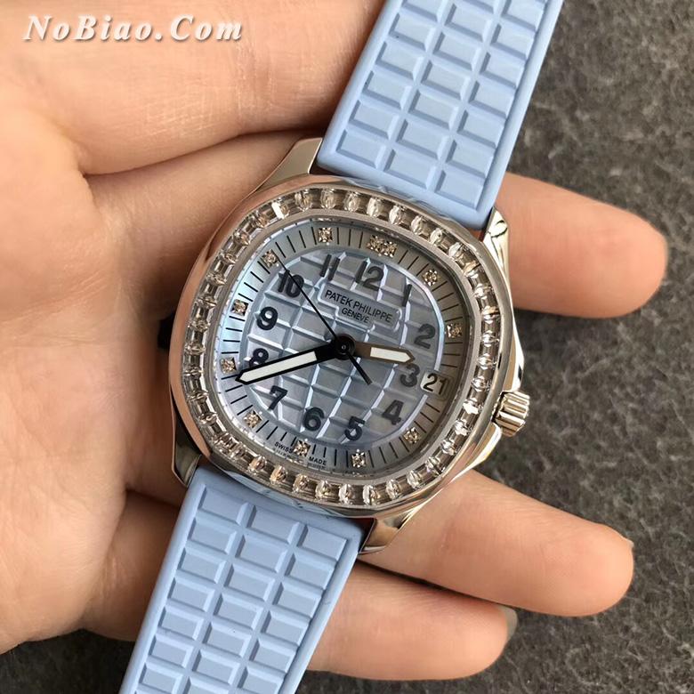 PPF厂百达翡丽AQUANAUT系列5072G-001女士复刻手表