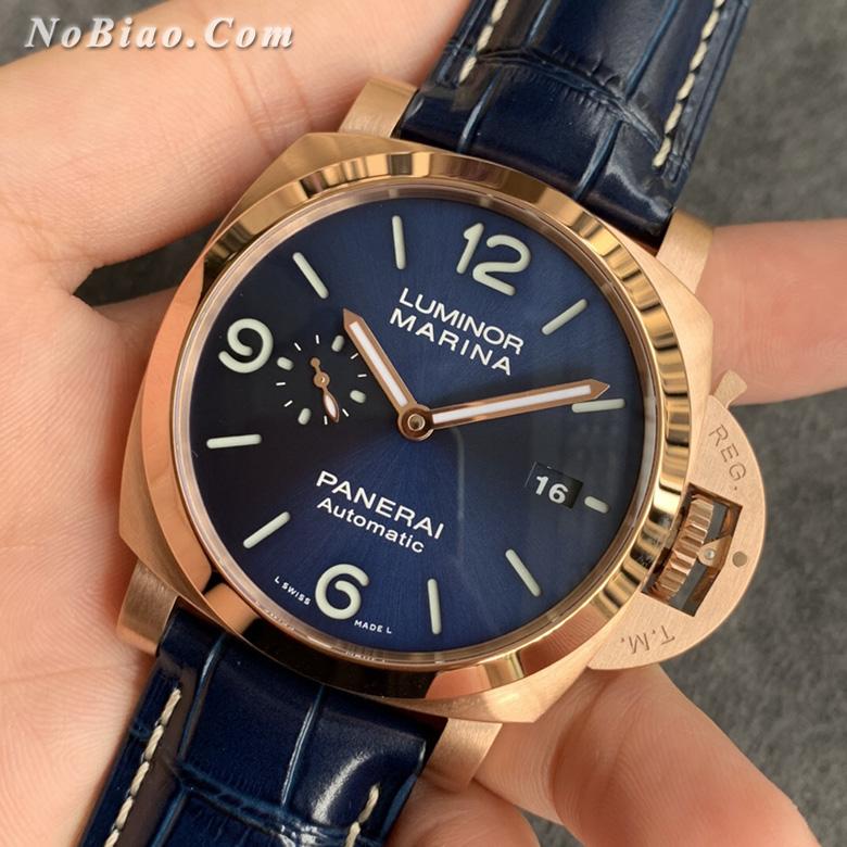 VS厂沛纳海Luminor系列PAM1112红金复刻手表