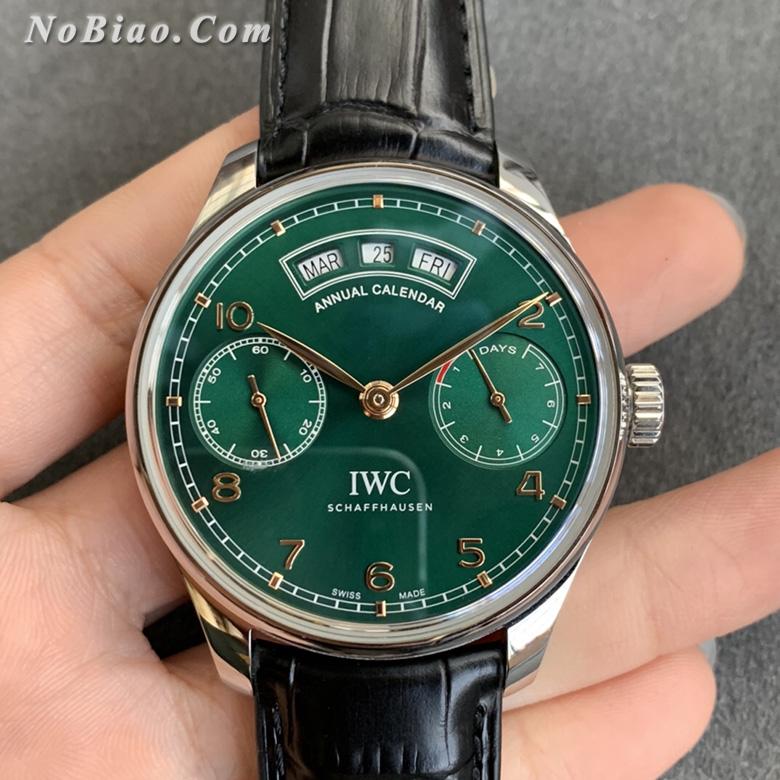 ZF厂万国葡萄牙系列年历绿面复刻手表