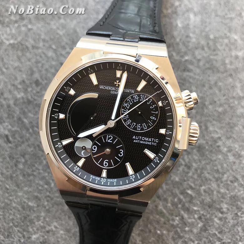 TWA厂江诗丹顿纵横四海系列黑面多功能复刻手表