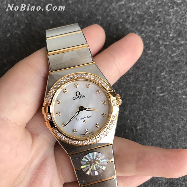 3S厂欧米茄星座系列28毫米131.25.28.60.55.002女士石英复刻手表