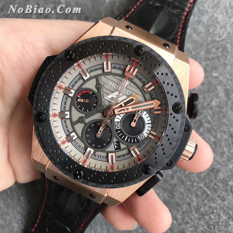 V6厂宇舶王者至尊系列F1赛车限量版703.OM.6912.HR.FMC12复刻手表