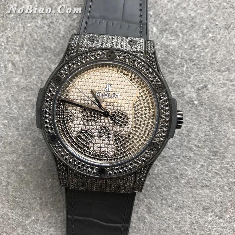 WWF厂宇舶经典融合系列511.ND.9100.LR.1700.SKULL满天星限量款复刻手表