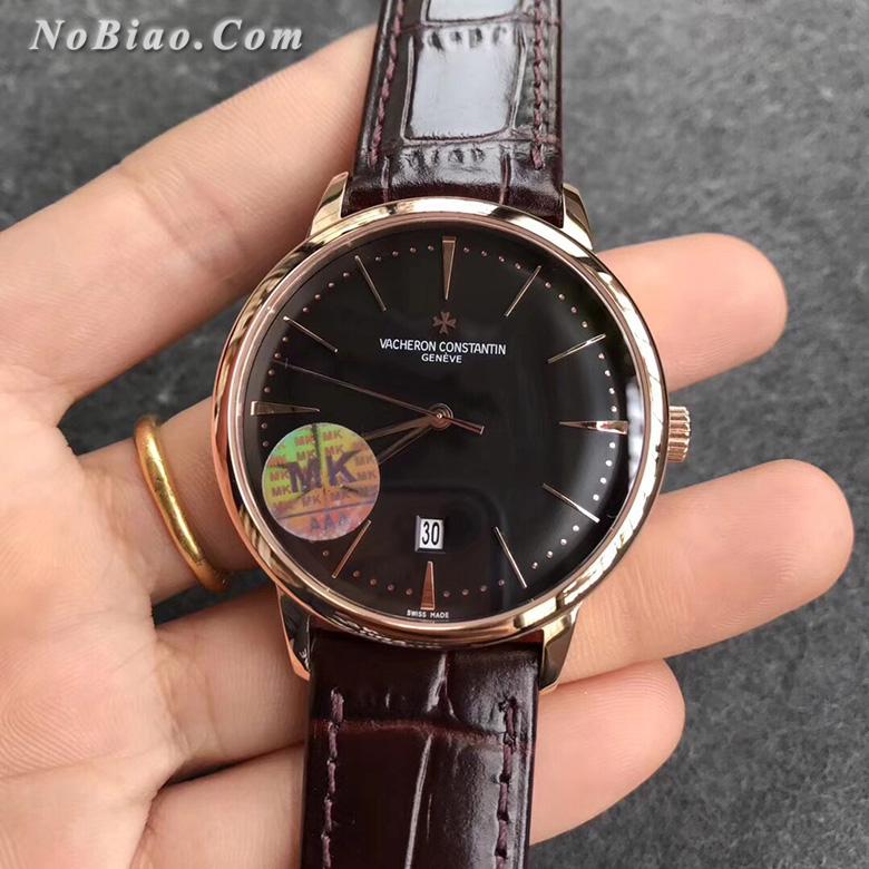 MK厂江诗丹顿传承系列85180/000R-9232黑面玫金经典款复刻手表