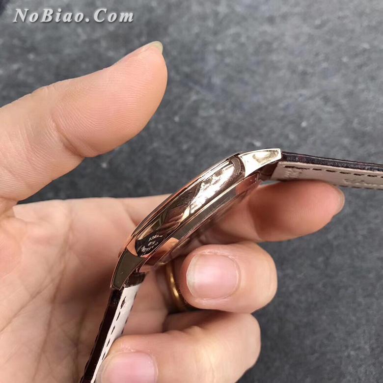 MK厂江诗丹顿传承系列85180/000R-9248白面玫金经典款复刻手表