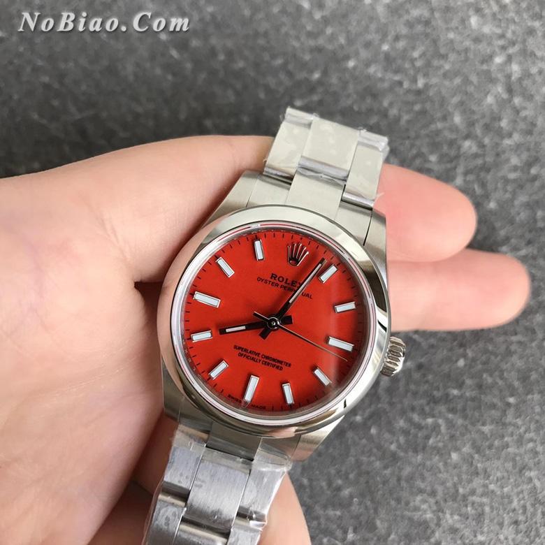 EW厂劳力士蚝式恒动系列m277200-0008女款复刻手表
