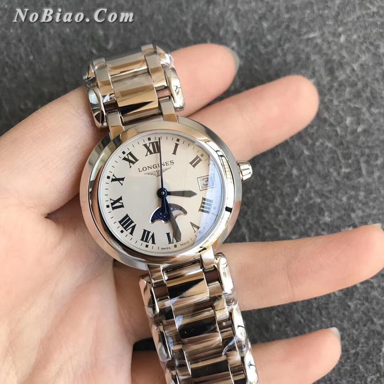 GS厂浪琴心月系列L8.115.4.71.6月相女士复刻手表