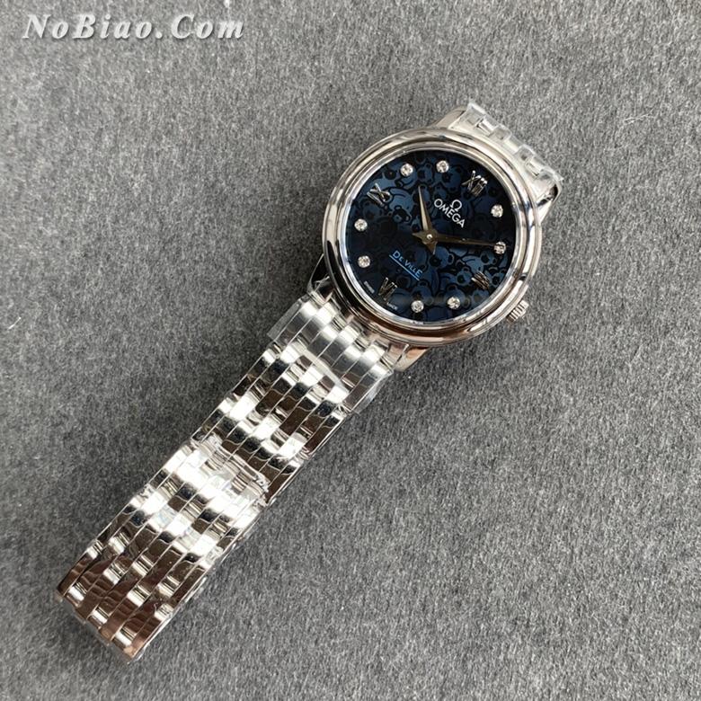 KZ厂欧米茄碟飞奥比斯小熊特别款女士石英复刻手表