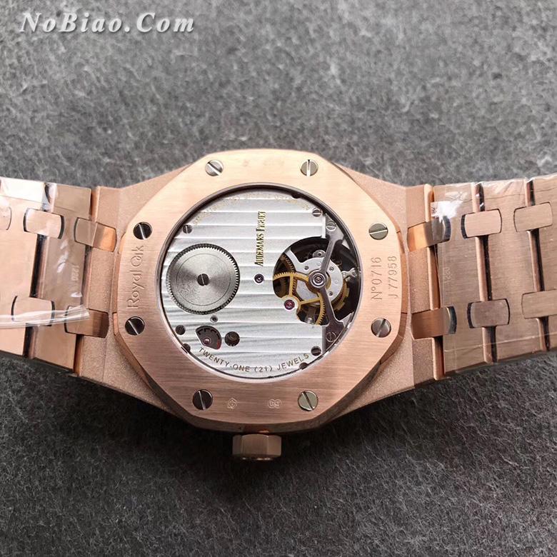 JF厂爱彼皇家橡树26515OR.OO.1220OR.01陀飞轮全金土豪款复刻手表