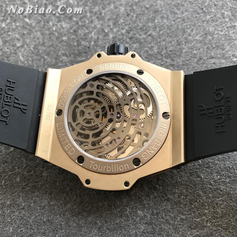 MJ厂宇舶大爆炸系列405.MX.0138.RX镂空陀飞轮复刻手表