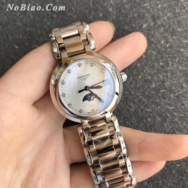 GS厂浪琴心月系列L8.115.4.87.6女士月相复刻手表