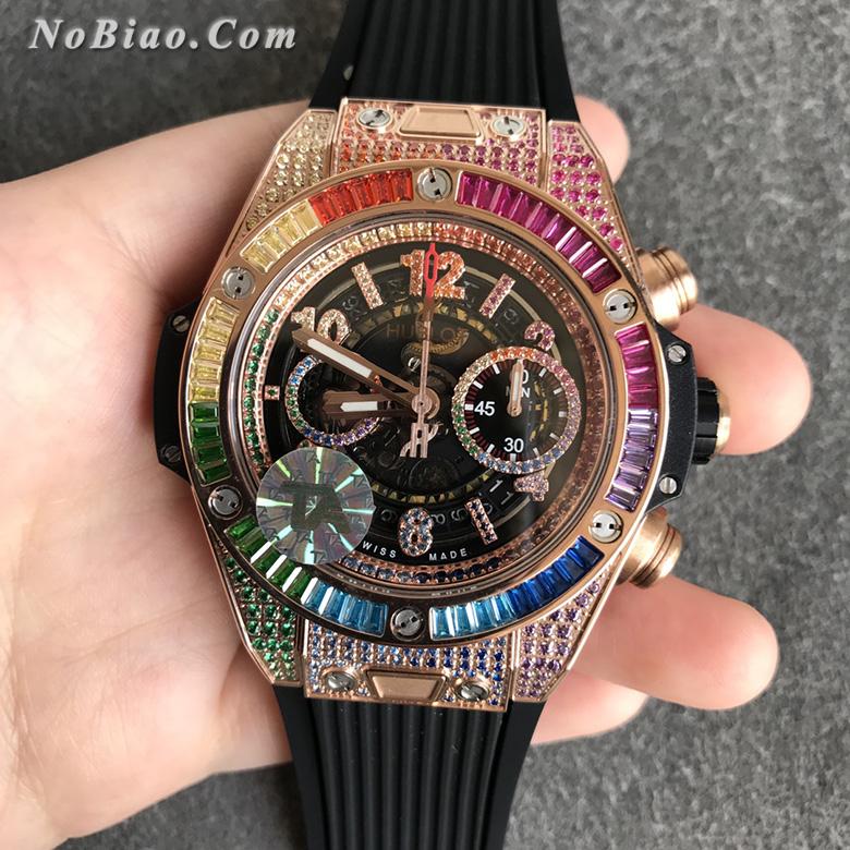 TA厂宇舶大爆炸系列411.OX.9910.LR.0999彩钻款复刻手表