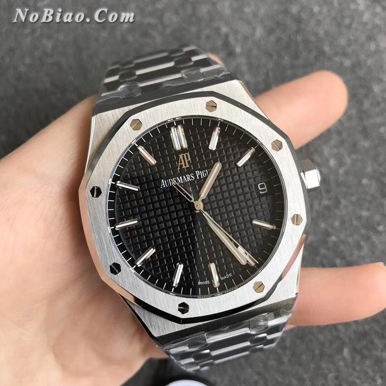 ZF厂爱彼皇家橡树系列黑面15500ST.OO.1220ST.03一比一复刻手表
