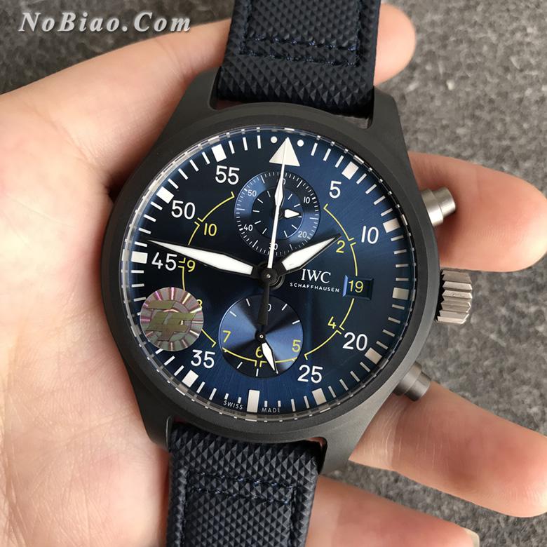 ZF厂万国飞行员系列美国海军蓝天使飞行表演队特别版复刻手表