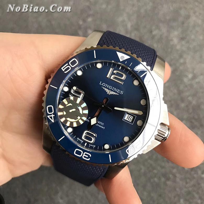ZF厂浪琴康卡斯系列L3.781.4.96.9陶瓷圈胶带版复刻手表