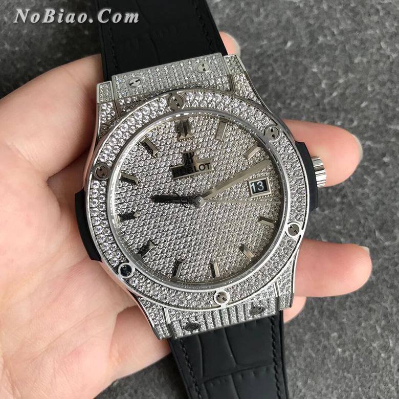 WWF厂宇舶经典融合系列511.NX.9010.LR.1704满天星限量款复刻手表