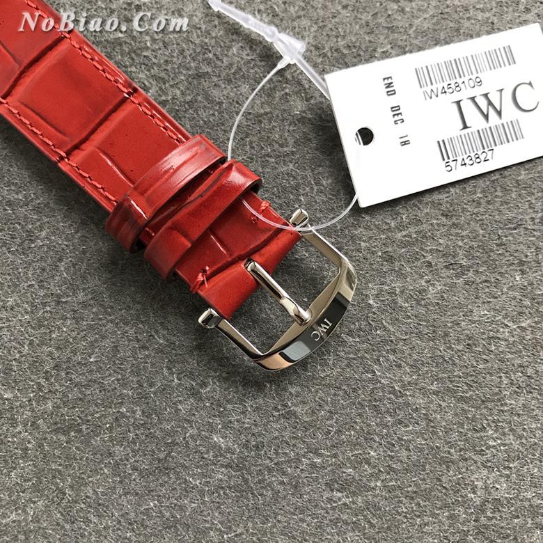 V7厂万国柏涛菲诺女款复刻手表 瑞士原装ETA2892机芯(八)