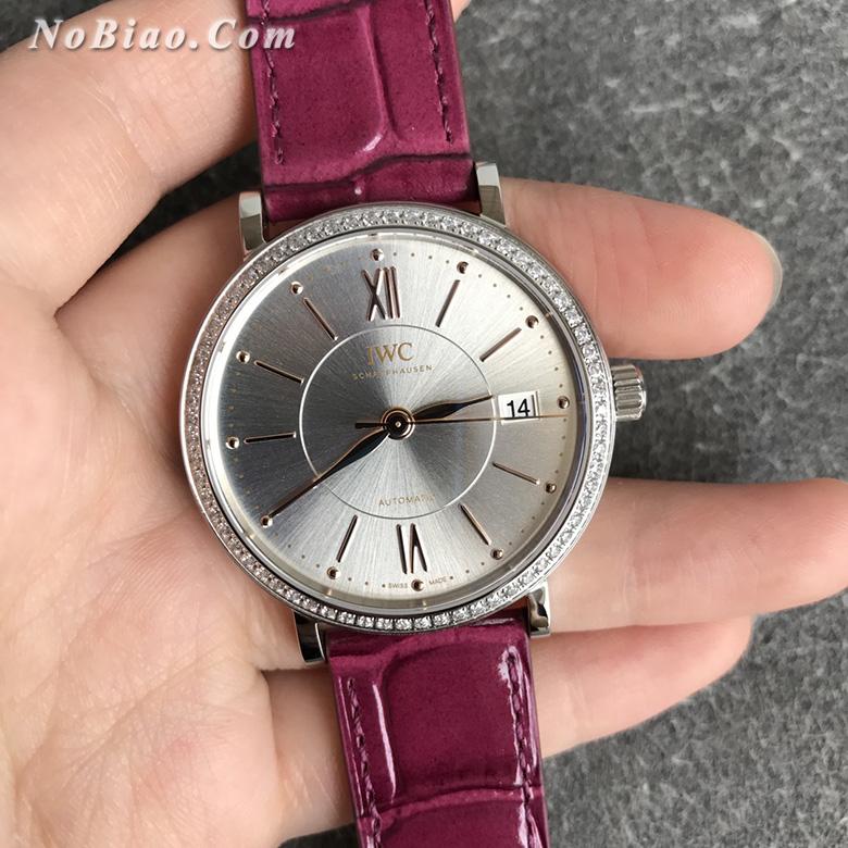 V7厂万国柏涛菲诺女款复刻手表 瑞士原装ETA2892机芯(七)