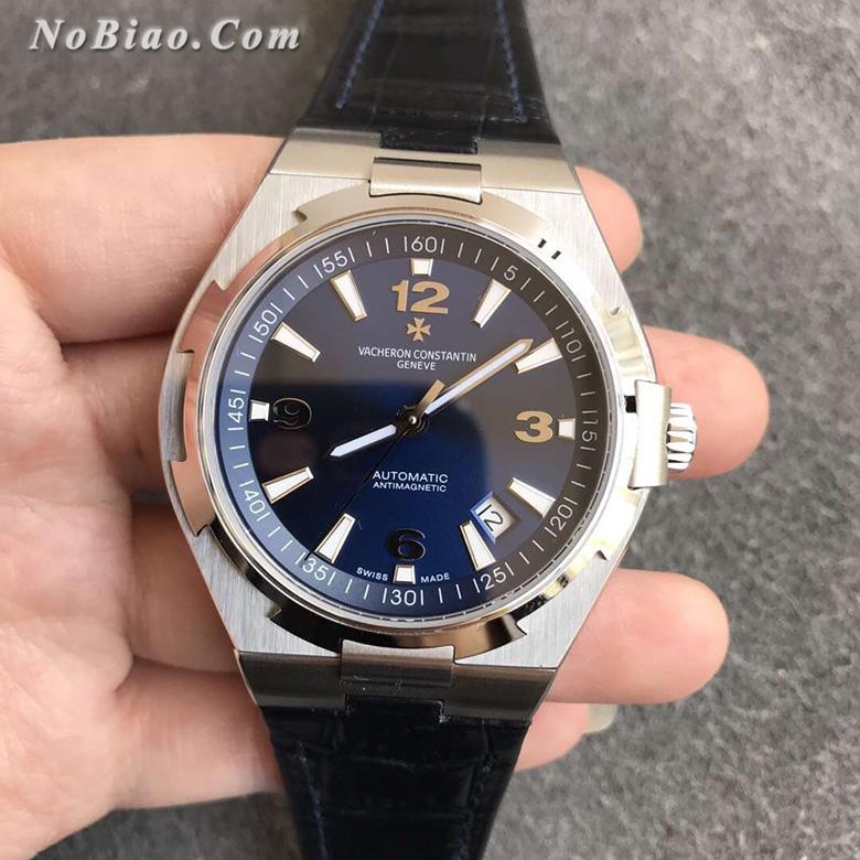 8F厂江诗丹顿纵横P47040/000A-9008四海蓝面皮带款一比一复刻手表(一)