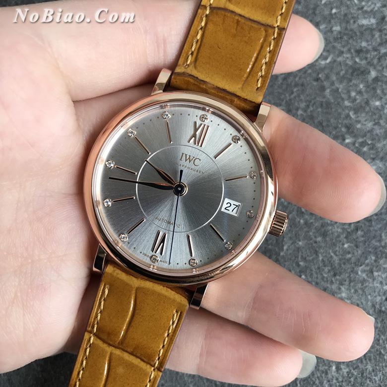 V7厂万国柏涛菲诺女款复刻手表 瑞士原装ETA2892机芯(九)