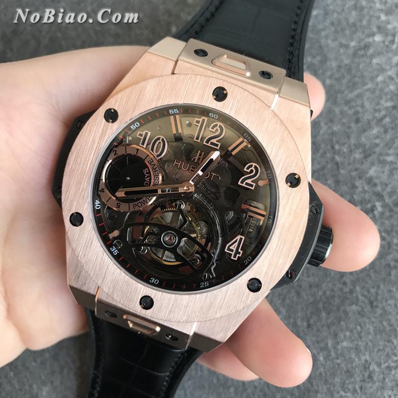 MJ厂宇舶大爆炸系列王金款镂空陀飞轮复刻手表
