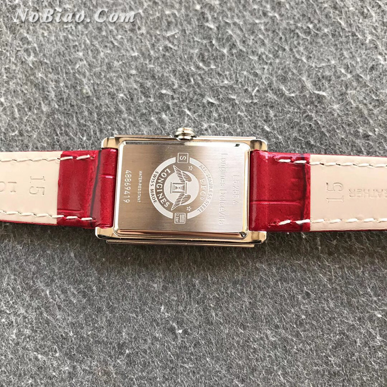8848厂浪琴黛绰维纳系列女士石英复刻手表