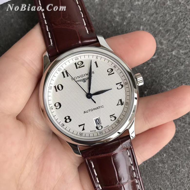 KZ厂浪琴名匠系列L2.628.4.78.3六点位单历超薄鳄鱼皮带版复刻手表