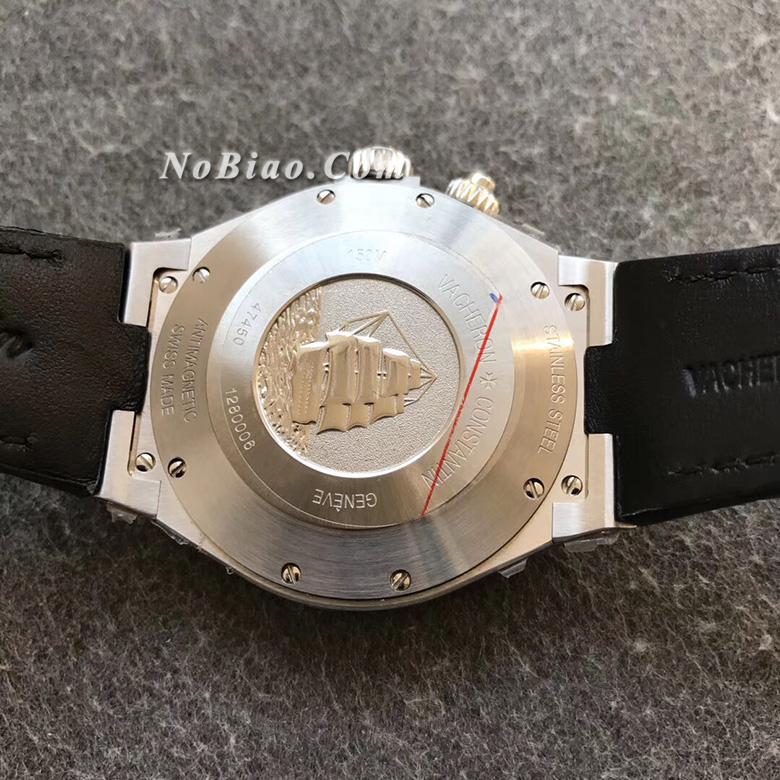 TWA厂江诗丹顿纵横四海系列P47450/000A-9039蓝面多功能复刻手表
