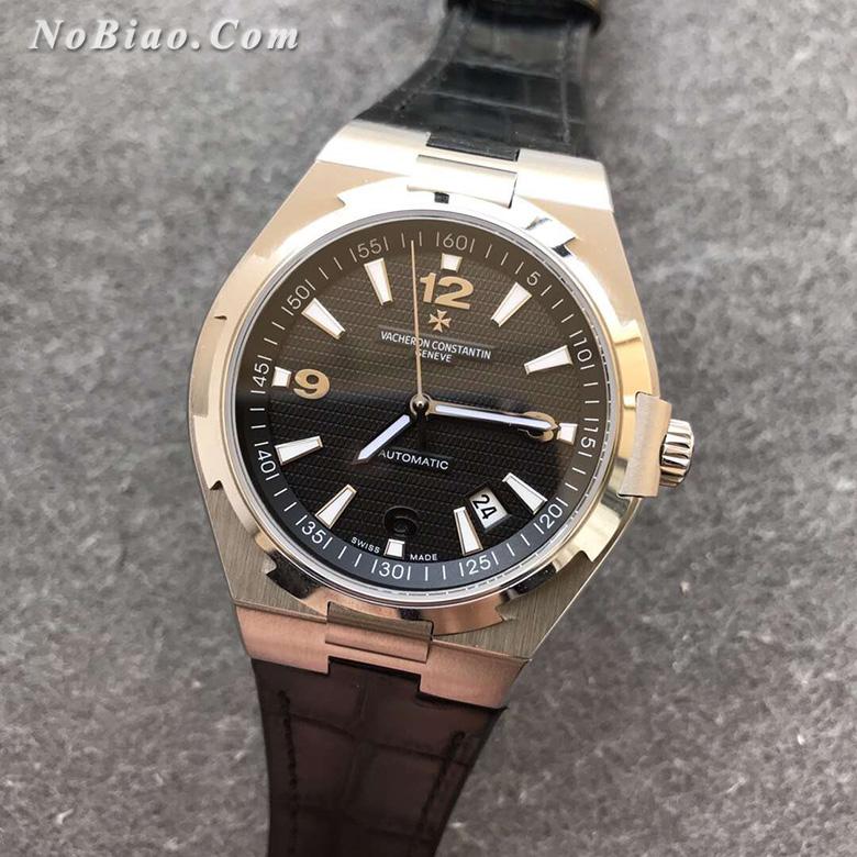 8F厂江诗丹顿纵横四海黑面皮带款一比一复刻手表(三)