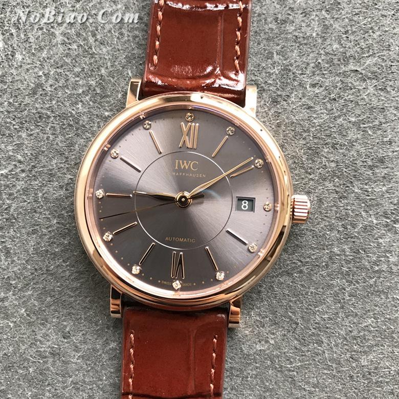 V7厂万国柏涛菲诺女款复刻手表 瑞士原装ETA2892机芯(十)