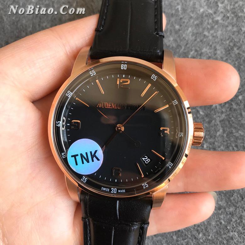 TNK厂爱彼CODE 11.59系列黑面金壳一比一复刻手表