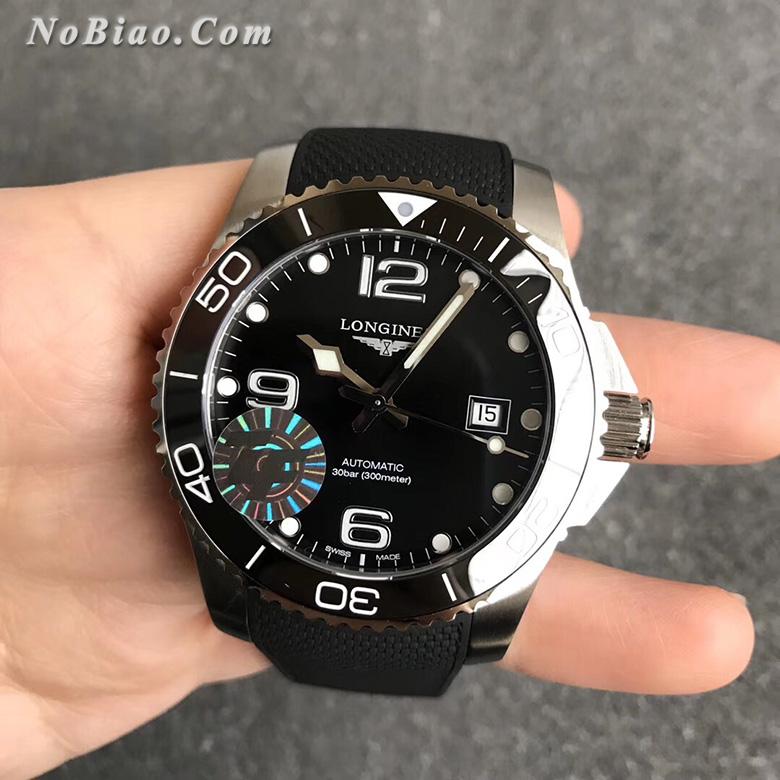 ZF厂浪琴康卡斯系列L3.781.4.56.9陶瓷圈胶带版复刻手表