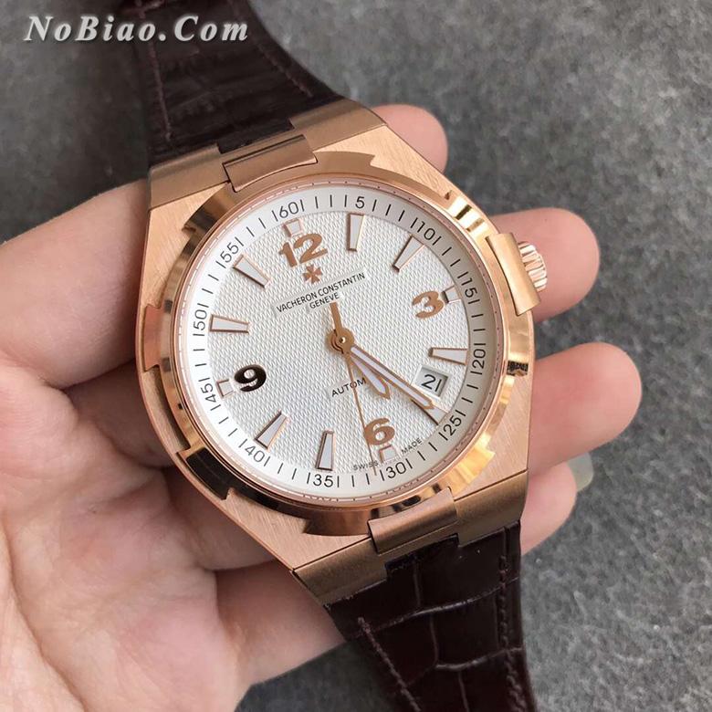 8F厂江诗丹顿纵横四海白面玫金款一比一复刻手表(四)