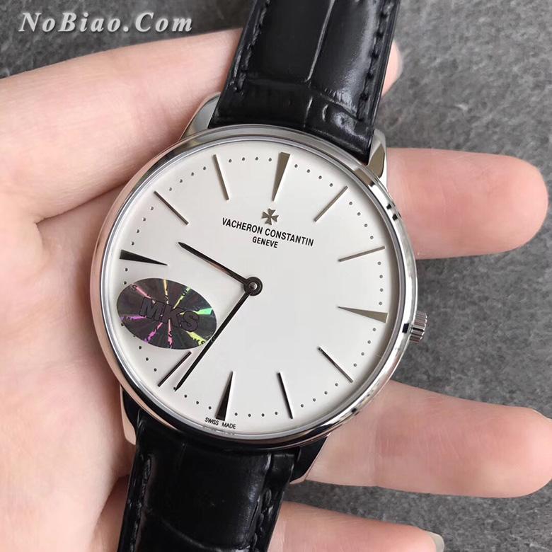 MKS厂江诗丹顿传承系列81180/000G-9117白面复刻手表(五)