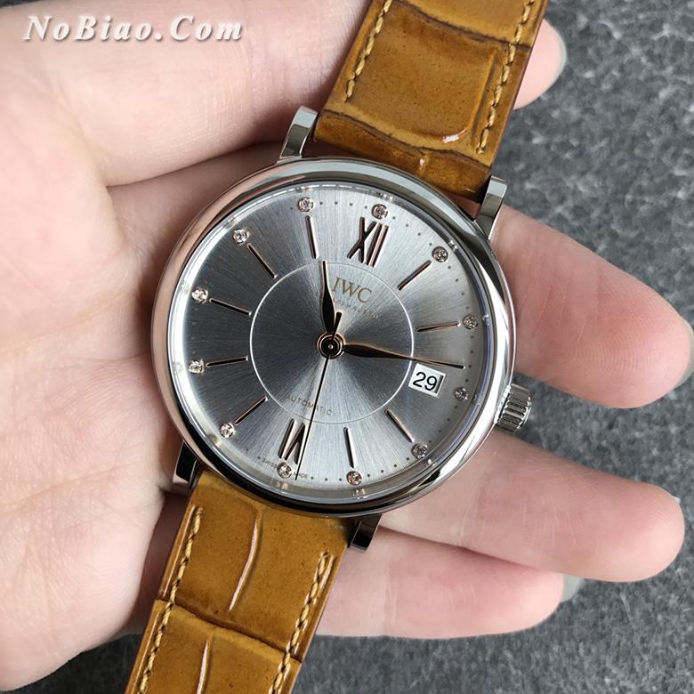 V7厂万国柏涛菲诺女款复刻手表 瑞士原装ETA2892机芯(三)
