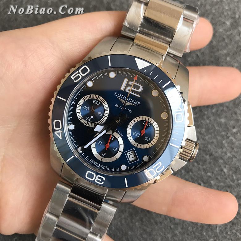 8F厂浪琴康卡斯计时系列L3.783.4.96.6复刻手表