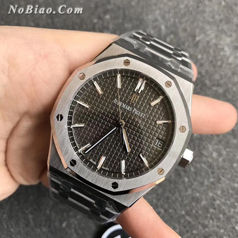 ZF厂爱彼皇家橡树系列灰面15500ST.OO.1220ST.02一比一复刻手表